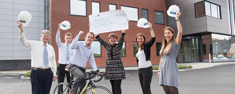 Anwyl raises over £7000 for Hope House