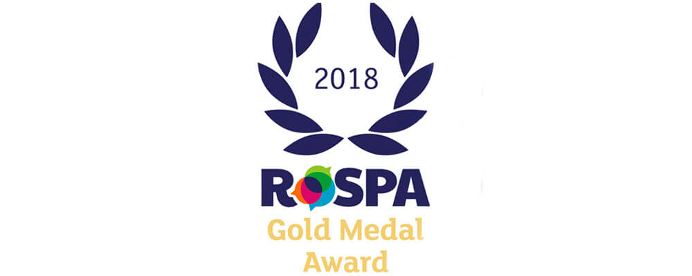Group go for Gold with 6th RoSPA safety award
