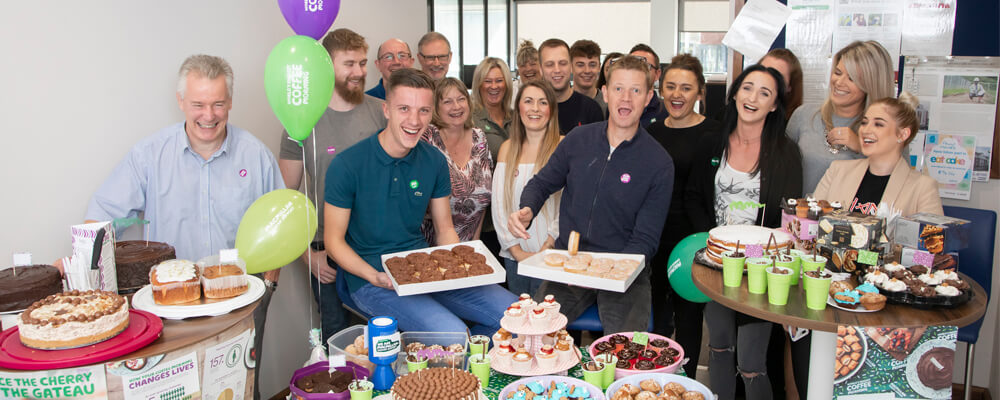Anwyl Homes Raises Over £1280 for Macmillan Cancer Support