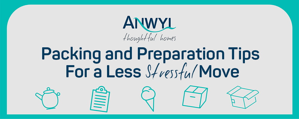 Packing and Preparation Tips For a Less Stressful Move