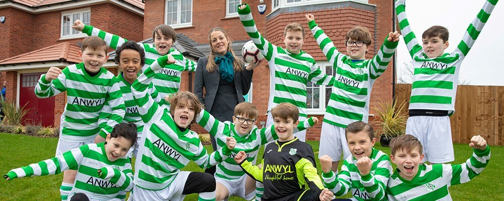Barca Berkley score with new kits from Anwyl Homes Lancashire