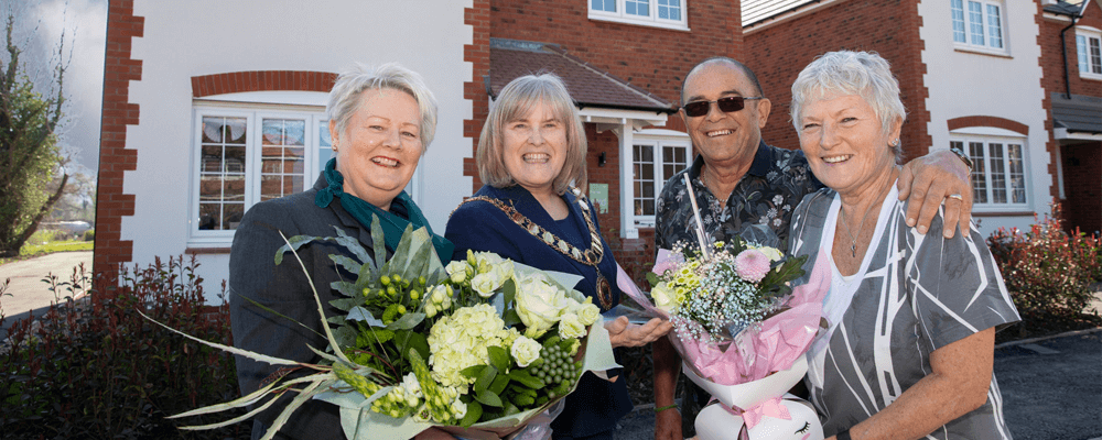 Welcoming The Arrival Of Our First Residents In Telford