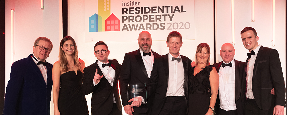 Anwyl crowned 'Housebuilder of the Year' at the Insider Residential Property Awards 2020