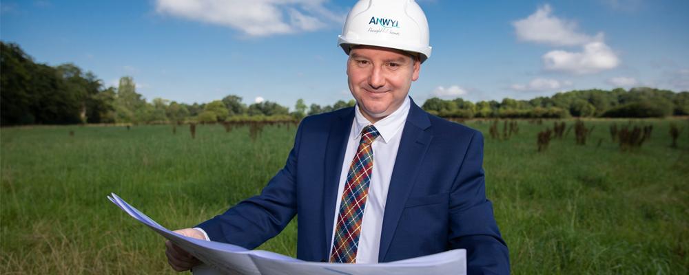 Anwyl breaks ground in Abergele