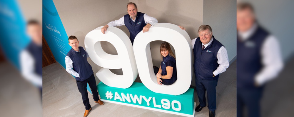 Anwyl to give £90 to charity for every new home sold during its anniversary year