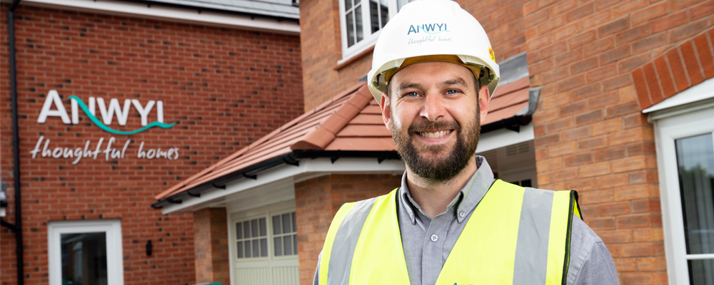 Anwyl's Site Manager in Fulwood Wins First Quality Award