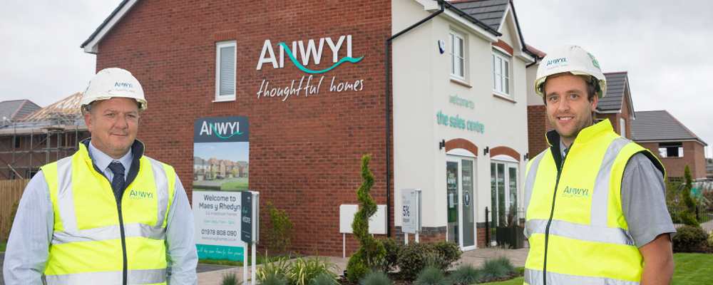 Anwyl wins two NHBC Pride in the Job Awards in North Wales