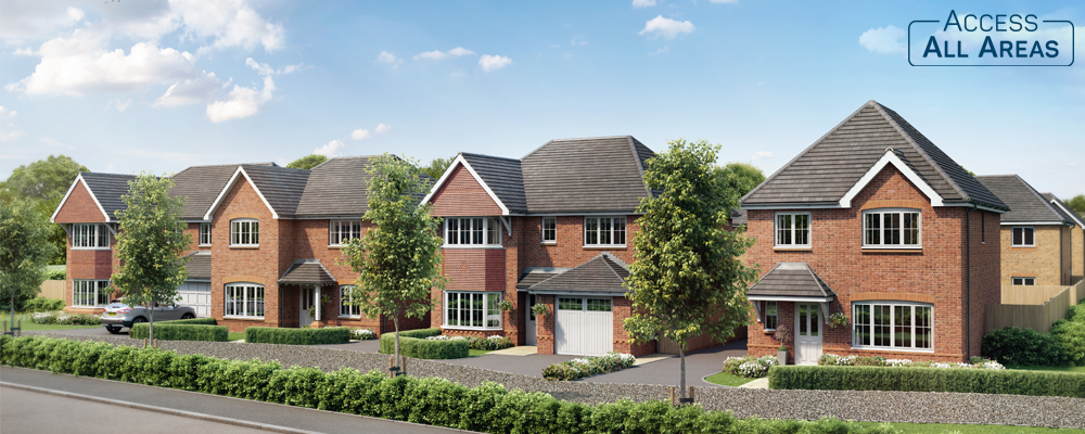 Anwyl offers 'Access All Areas' to new homes in Longridge