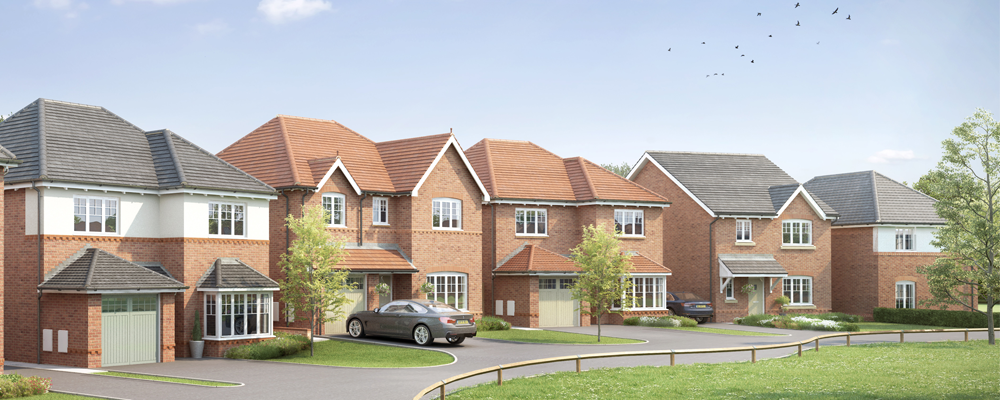 Families looking for affordable detached homes are spoilt for choice in Llay