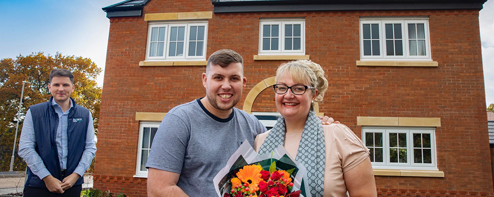 Crewe Family Reunited in New Home