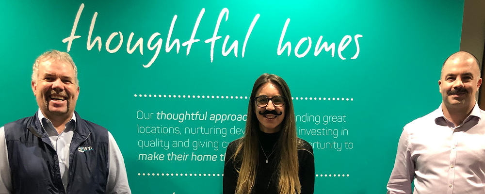 Anwyl adds Christmas party funds to employees' Movember total