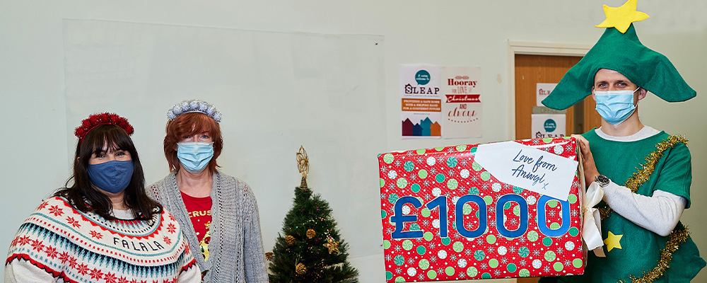 Anwyl gifts Christmas party cash to Lancashire charities