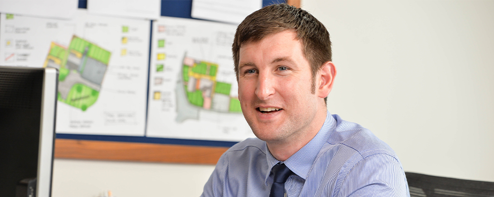 Growth prompts appointment of Tom Grundy to new role at Anwyl Homes