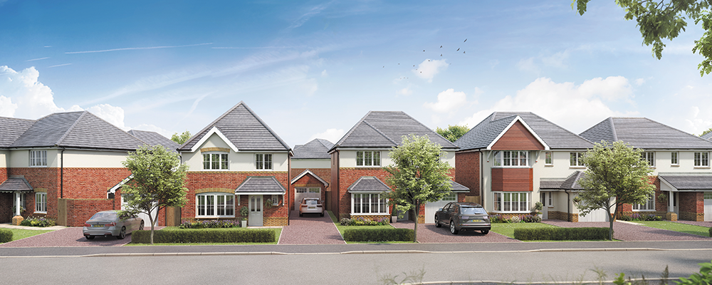 Milestones for new homes in Knowsley