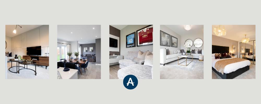 Design inspiration inside new Handforth show homes