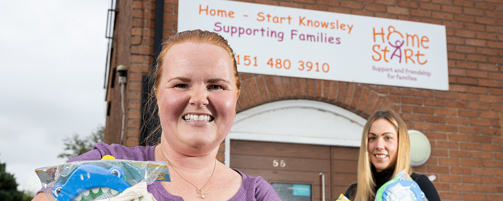 Gift to Knowsley community, love from Anwyl
