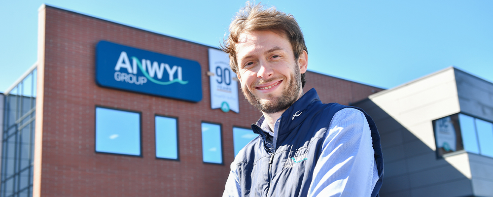 Kevin has designs on success in new role with Anwyl