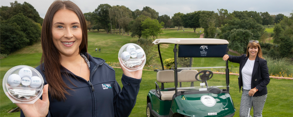 Golfers teeing off in  bid to tackle hygiene poverty
